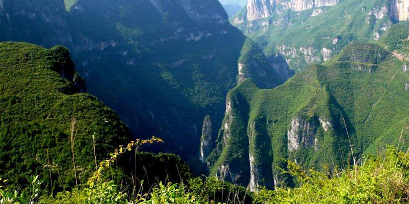 云阳龙岗地质公园